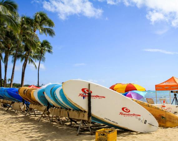Hawaï : Surf, plages et randonnées